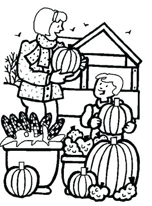 300x407 Fall Pictures Color And Print Exciting Fall Coloring Pages