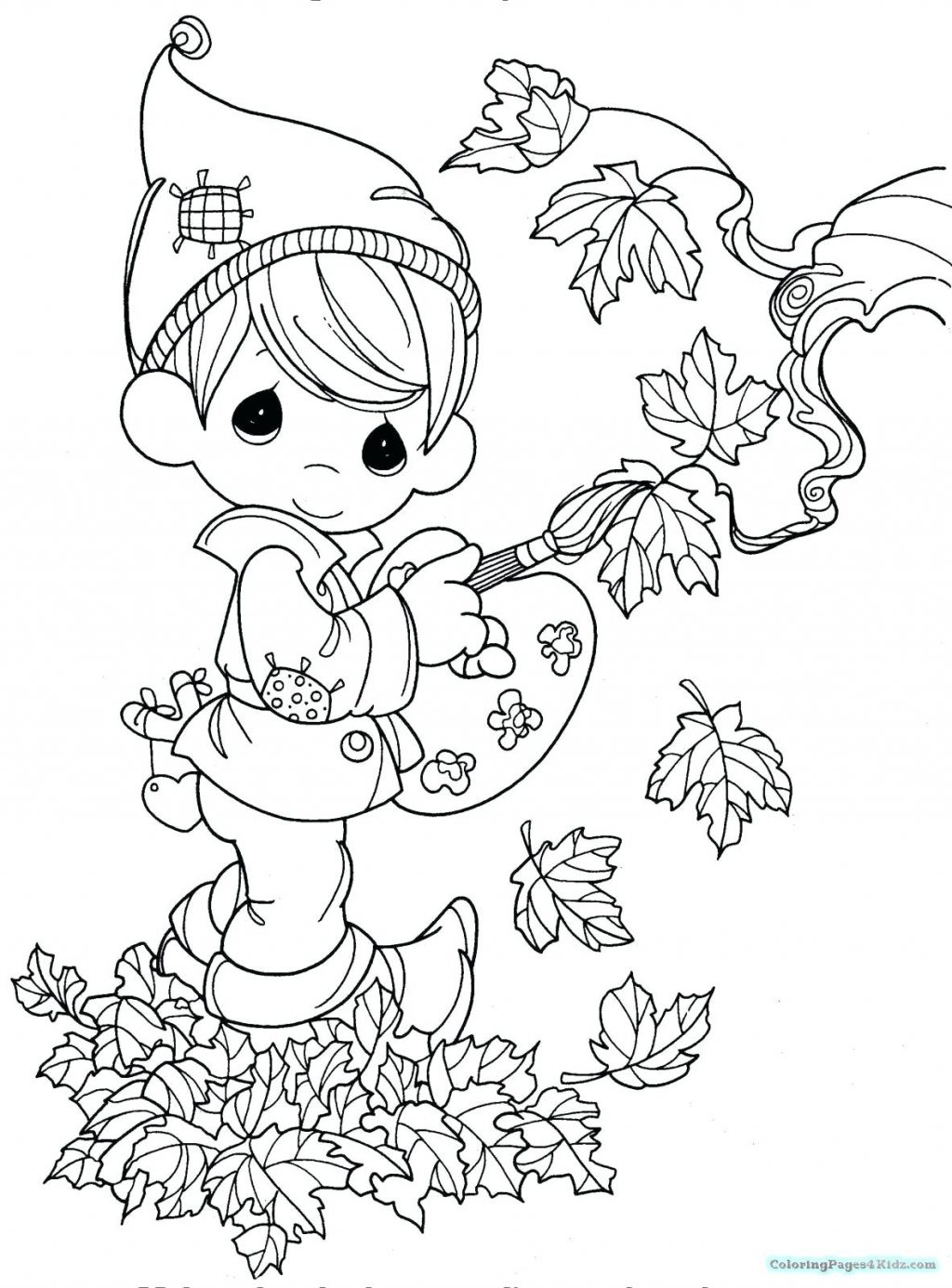 1024x1386 Coloring Pages Autumn Coloring Pages Outlines Colouring