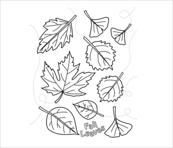 585x501 Fall Coloring Pages Free Word, Pdf, Png Format