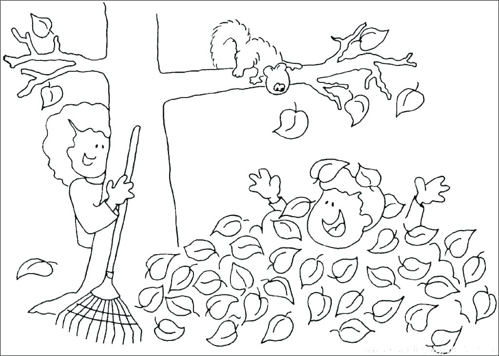 1024x731 Fall Coloring Pages For Kids Coloring Pages Fall Free Fall