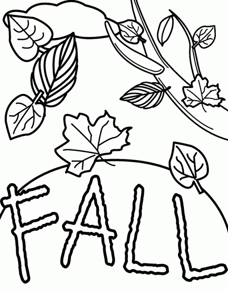 757x960 Fall Coloring Pages For Kids Lovely Free Autumn And Fall