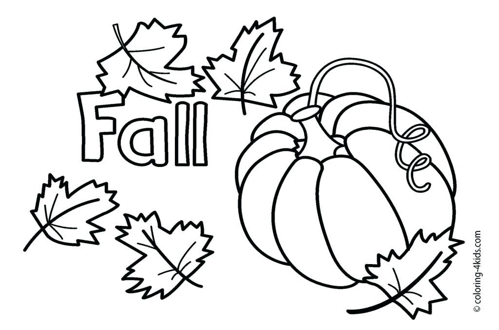 1024x676 Fall Coloring Sheets Printable