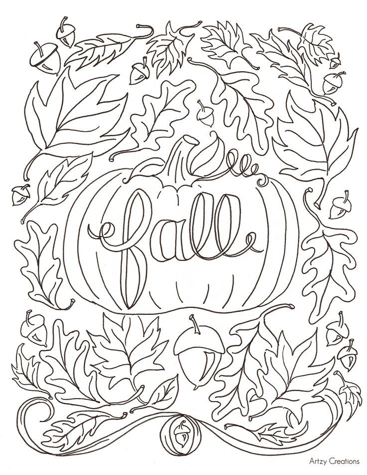 736x952 Fall Coloring Sheet Best Fall Coloring Pages Ideas