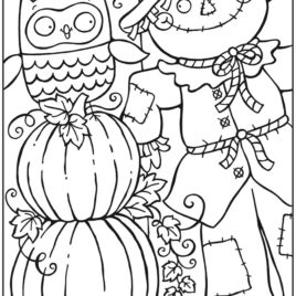 268x268 Fall Coloring Pages For Adults Printable Archives