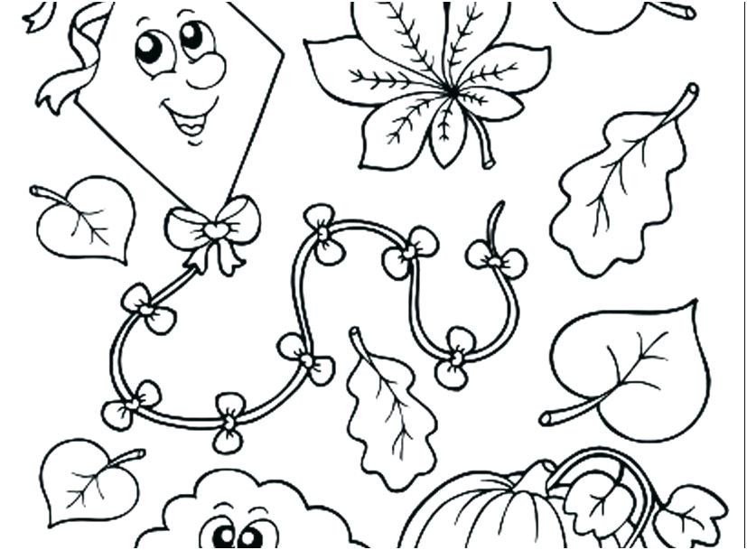 827x609 Coloring Pages For Fall Fall Color Pages Fall Coloring Pages Fall