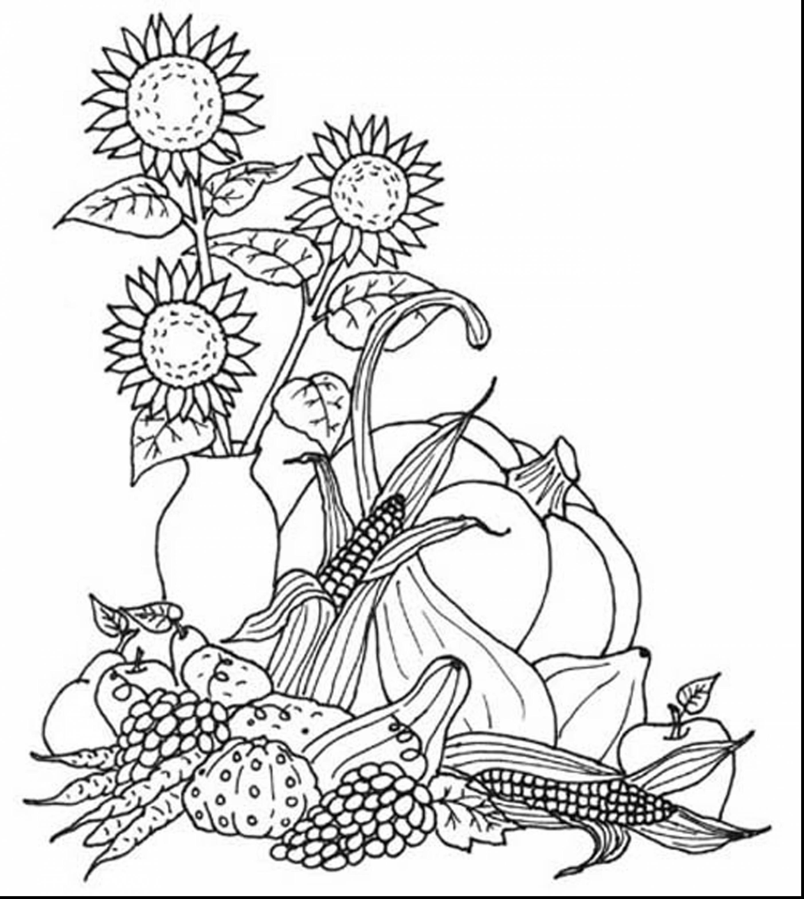 Free Fall Coloring Pages For Adults