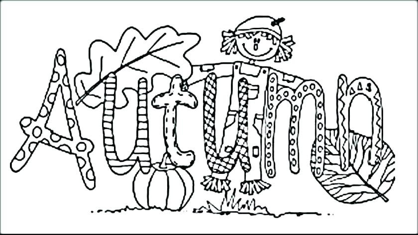 840x473 Coloring Pages Of Fall Autumn Coloring Page Fall Festival Coloring