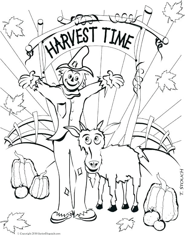 612x775 Coloring Pages Of Fall Coloring Pages Autumn Fall Festival