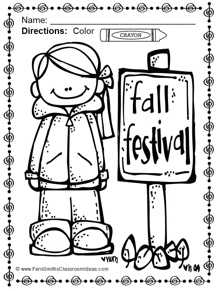 720x960 Coloring Pages For Fall Festival Fall Festival Coloring Pages Fall