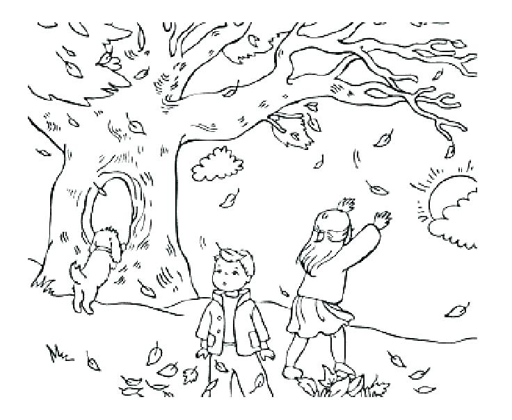 736x605 Coloring Pages For Fall Fall Coloring Pages Free Fall Coloring