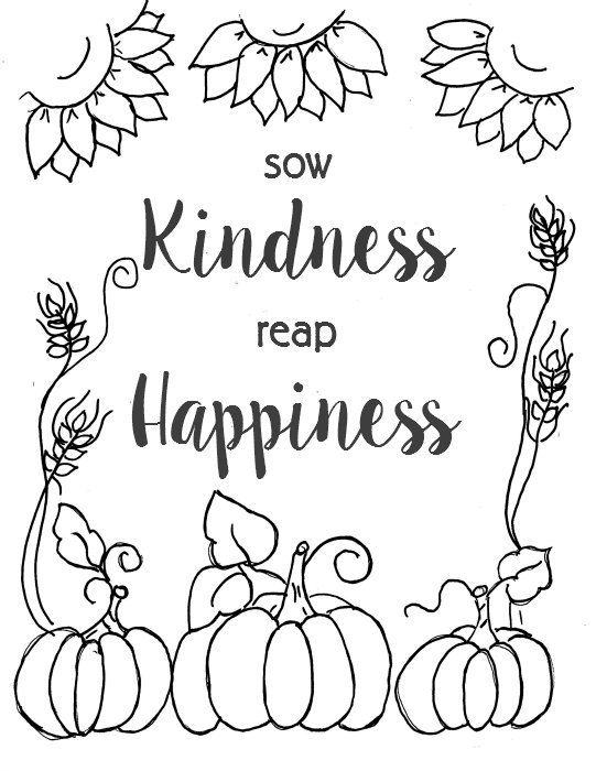 541x700 Free Fall Printable Coloring Page