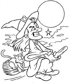 236x283 Halloween Coloring Pages For Kids Free Printables Halloween