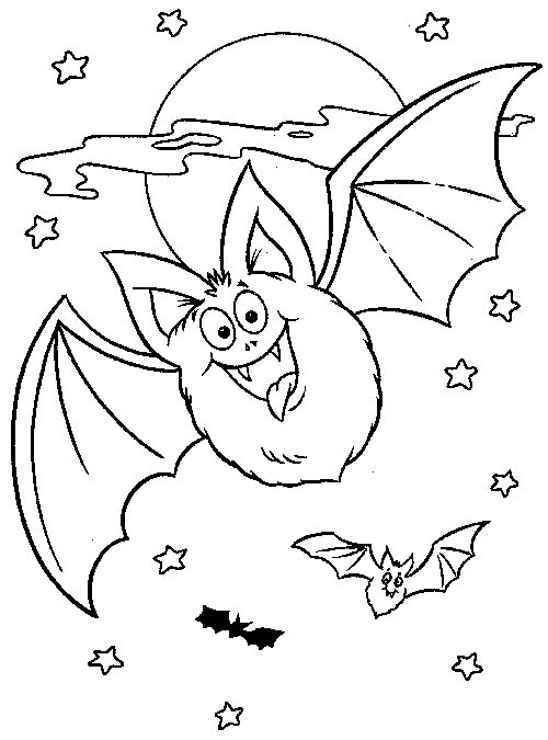500x675 Bat Halloween Coloring Pages Top Free Printable Bats Coloring