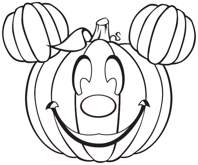 648x540 Free Disney Halloween Coloring Pages For Kids Color Bros