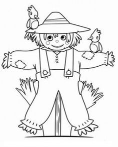 236x295 Thanksgiving Day In Harvest Coloring Pages
