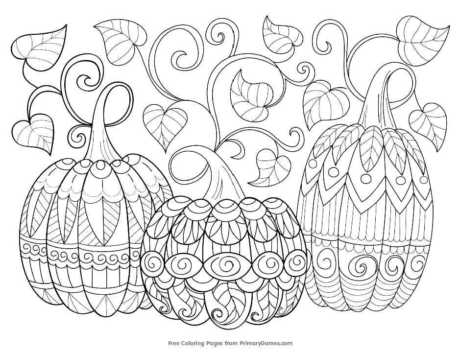 939x721 Fall Harvest Coloring Pages