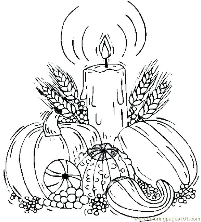 650x716 Harvest Coloring Pictures