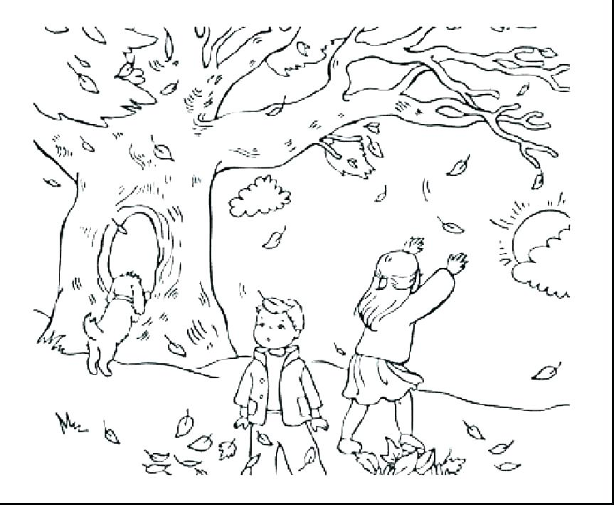 863x709 Fall Festival Coloring Pages Autumn Coloring Page Fall Festival