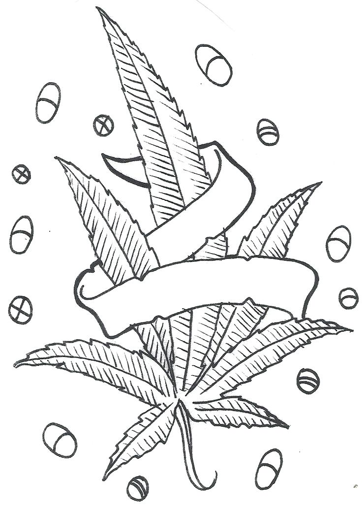 736x1040 Leaves Coloring Sheets Printable