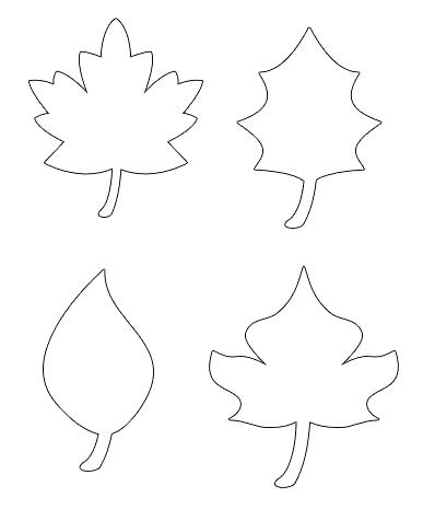 Fall Leaves Clip Art Coloring Pages At Getdrawings Com