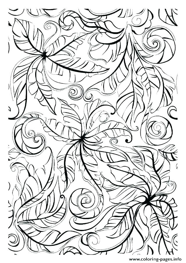 640x905 Fall Leaf Coloring Pages Printable Leaves Coloring Pages Fall