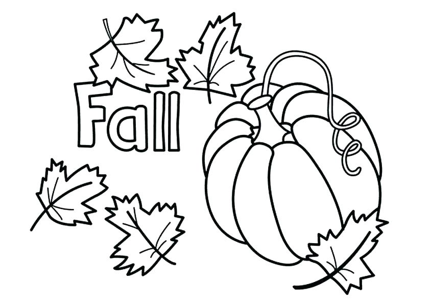 Fall Leaves Coloring Pages For Kindergarten at GetDrawings ...