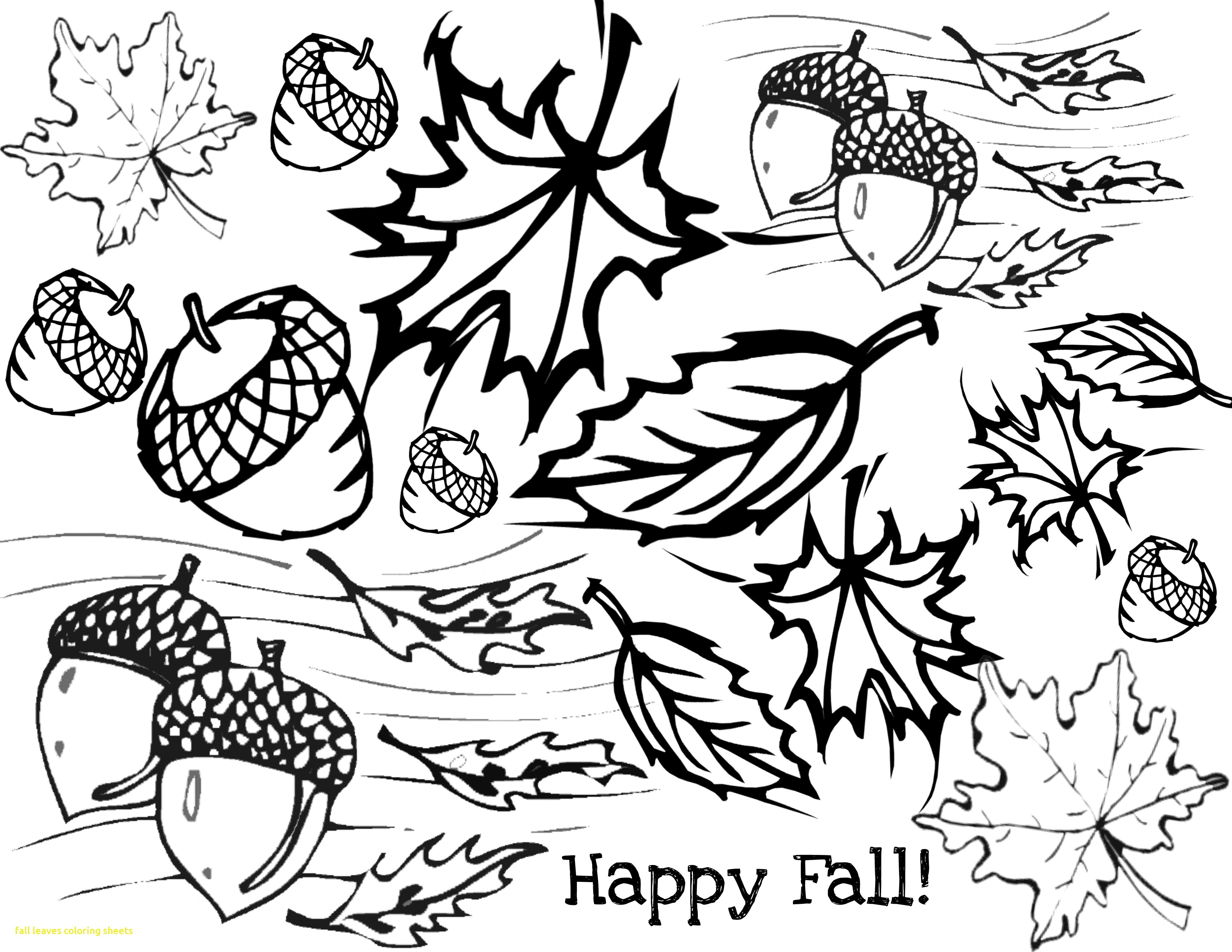 3300x2550 Fall Leaves Coloring Sheets With Fall Leaves Coloring Pages