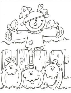 247x320 Halloween Coloring Pages Printable Page Pumpkins For Halloween