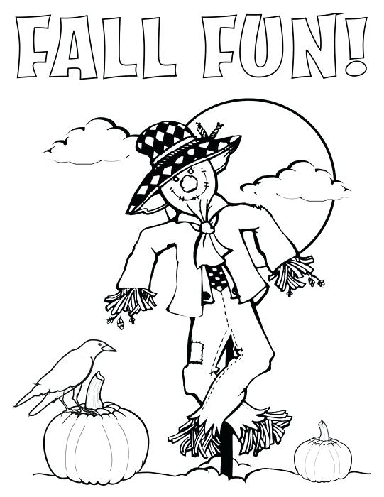 541x700 Scarecrow Coloring Pages Color Page Scarecrow Color Pages