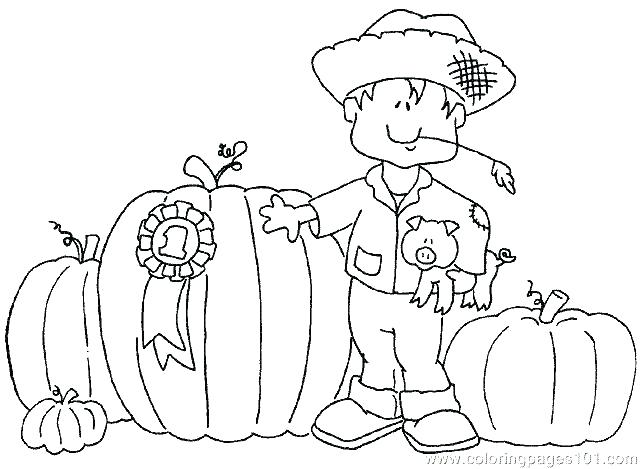 641x469 Scarecrow Coloring Pages Printables Color