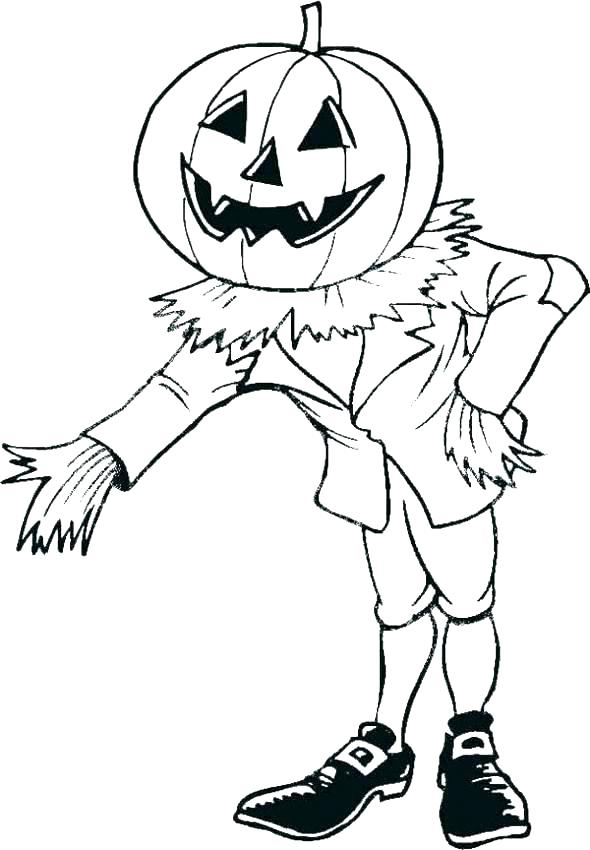 590x850 Scarecrow Coloring Pages Scarecrow Scarecrow Color Pages Printable
