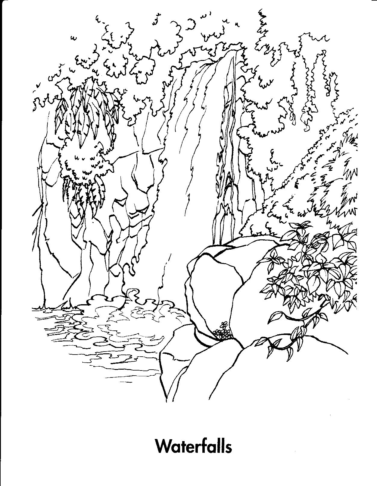 1252x1612 Niagara Falls Coloring Page Free Waterfalls Coloring Pages