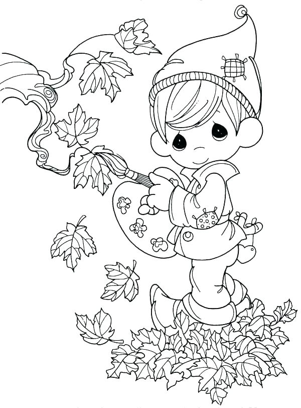 600x812 Coloring Pages For Fall Season