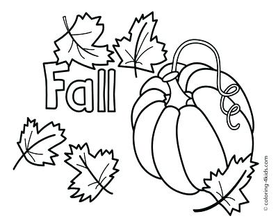 400x322 Free Printable Coloring Pages Fall Season Coloring Page Leaves