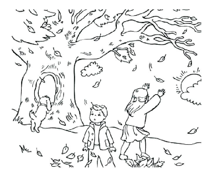 736x605 Coloring Pages For Fall Season Coloring Pages Of Fall Coloring