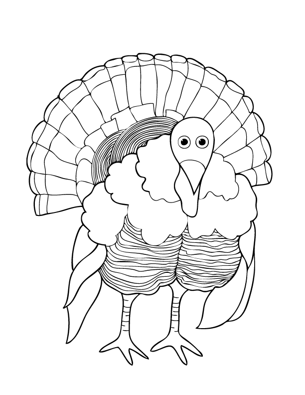 612x792 Thanksgiving And Fall Coloring Pages Make And Takes