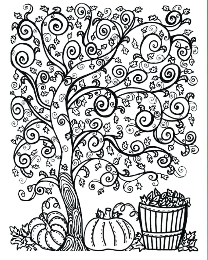 720x900 Coloring Pages Of Fall Two Free Fall Coloring Pages For Bigger