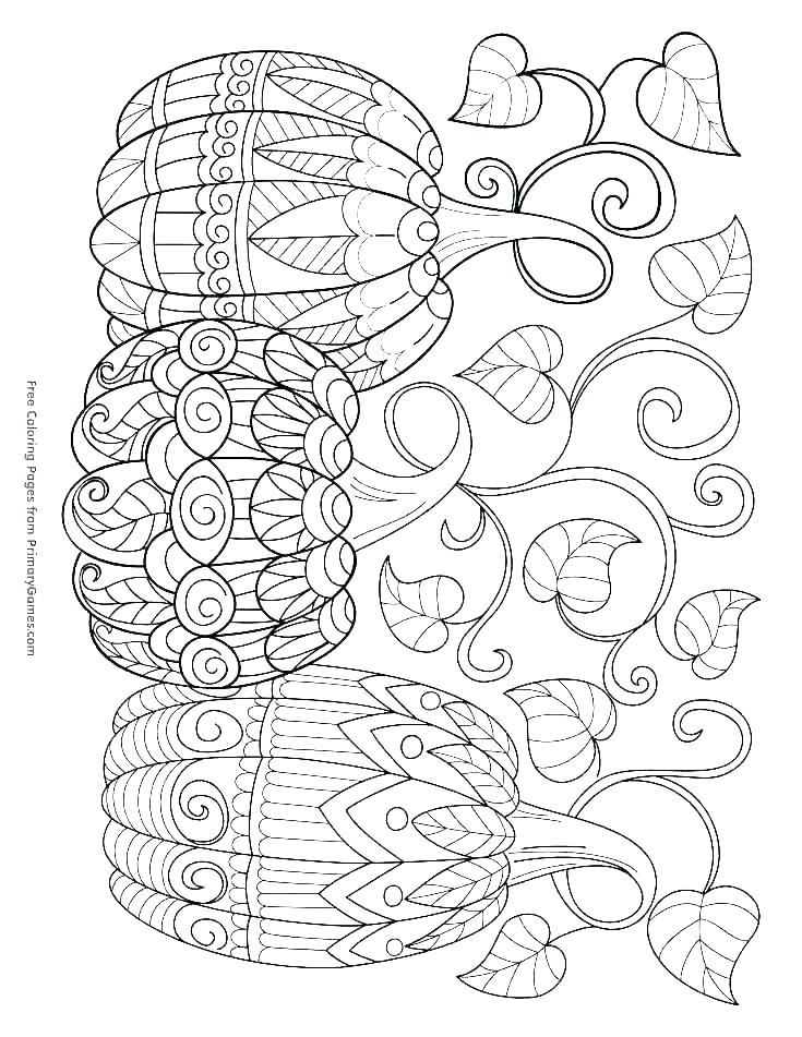 735x951 Fall Coloring Pictures To Print Free Fall Coloring Sheets Free