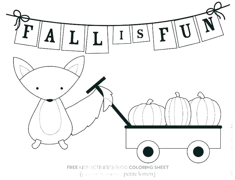 768x591 Free Fall Themed Coloring Pages Theme Autumn