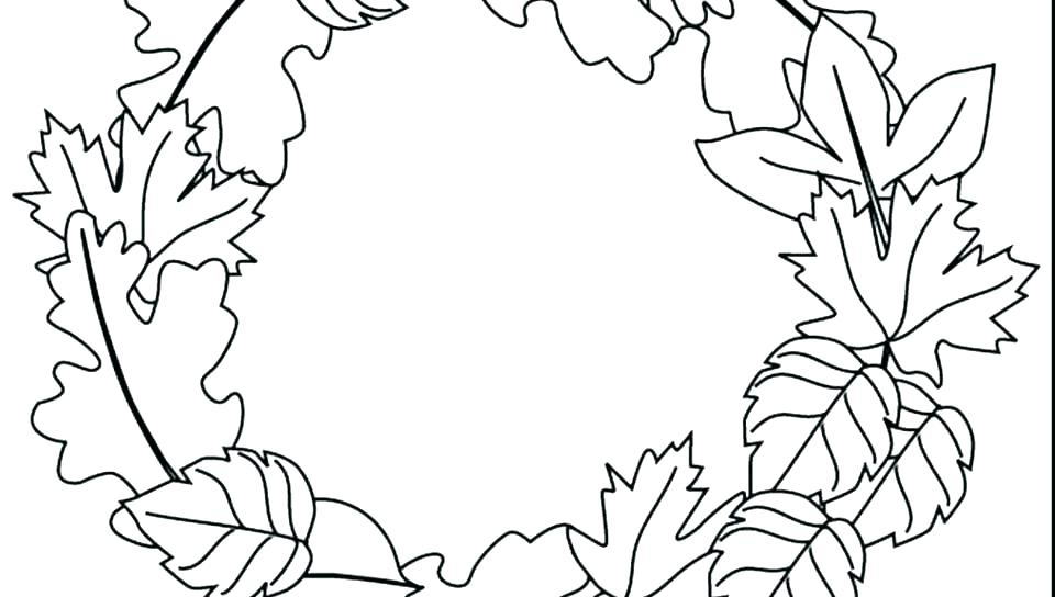 960x544 Fall Coloring Pages Printable