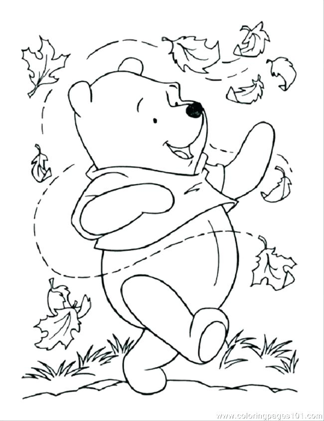 650x844 Printable Leaves Coloring Pages Just Autumn Leaf Coloring Page