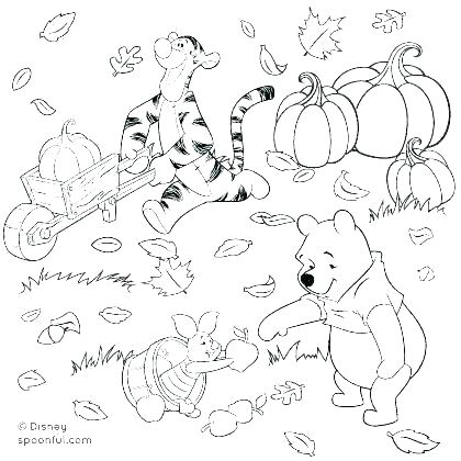 420x420 Best Autumn Coloring Pages Images On Coloring Book Two Fall Leaves