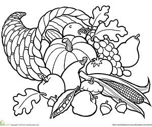 300x250 Printable Fall Coloring Pages For Kids Color Bros