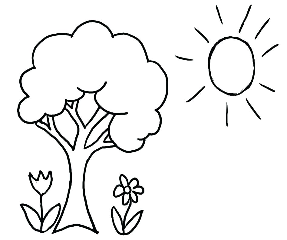 948x792 Leafless Tree Coloring Page Leafless Tree Coloring Page Printable