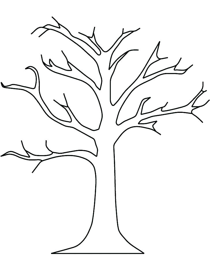 728x887 Autumn Tree Coloring Pages Printable Apple Tree Coloring Pages