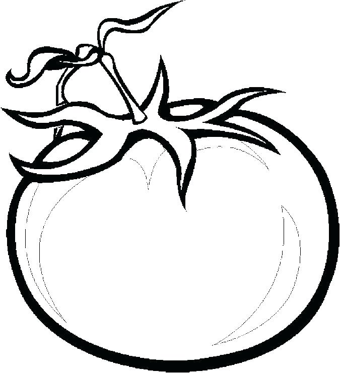 675x741 Coloring Page Tomatoes Coloring Pages Pin Tomato Colouring Page
