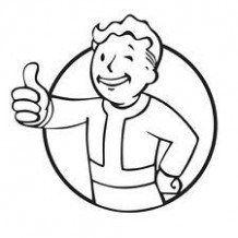 218x218 Fallout Nv Easy Coloring Pages