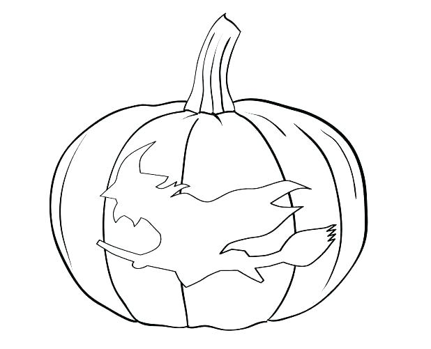 618x501 Blank Pumpkin Coloring Page Printable Fall Coloring Pages Creative