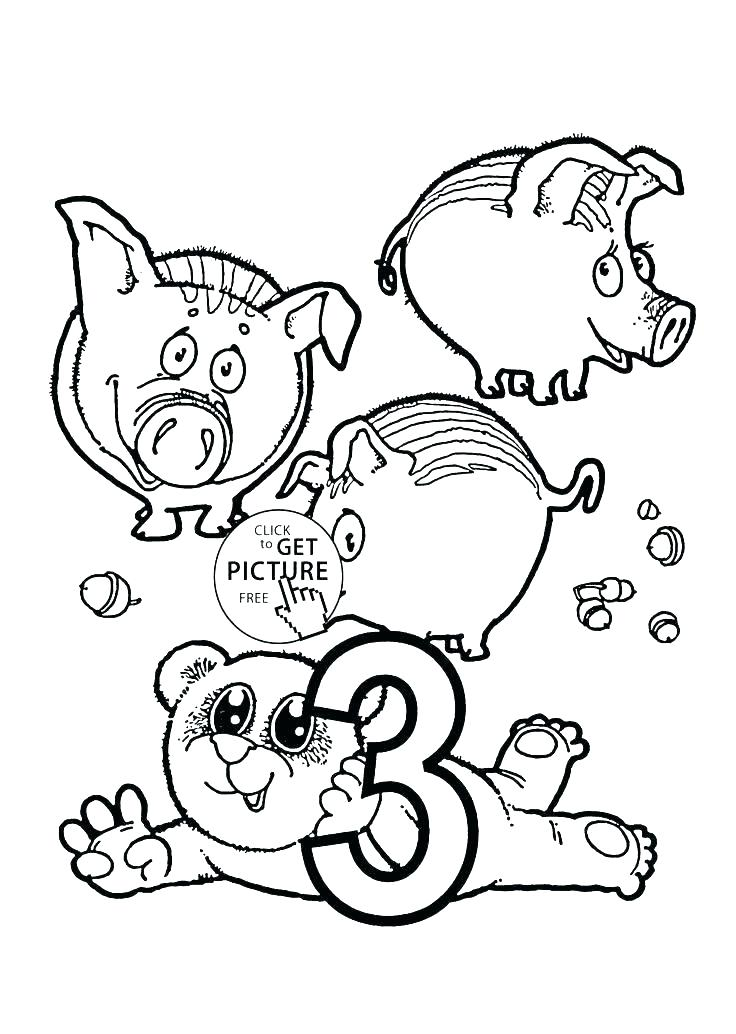 736x1034 Number Coloring Page Coloring Pages Numbers Counting Coloring