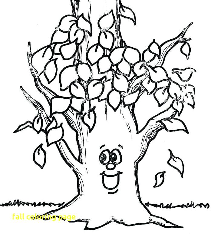 697x773 Coloring Pages For Fall Fall Coloring Page With Fall Coloring
